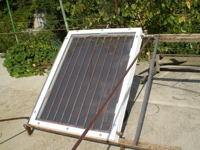 Солнечный радиатор своими руками 600