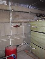Присоединение к системе отопления
