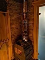 Печь Казачка Твердыня в модульной бане