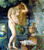 Женщина и баня